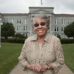 First black applicant to Missouri State University, Mrs. Mary Price Wells