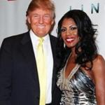Omarosa is introduced to partygoers at launch party by her mentor Donald Trump