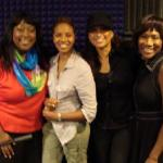 Singer, actress and relationship expert Chanté Moore joins Café Mocha hosts Loni Love, MC Lyte & Angelique Perrin