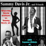 David Williams performs as Sammy Davis Jr., and Suzanne Nichols as Eartha Kitt