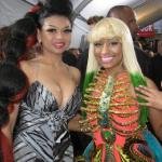 Donna Rowe and Nicki Minaj