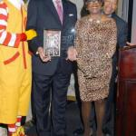 Ronald McDonald, Allen Norman, Honoree Audrey J. Bernard, Don Thomas
