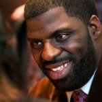"Chicago rapper and alderman candidate Che ""Rhymefest"" Smith, talks about the problems in the 20th Ward and his decision to seek political office, during an interview with the AP in Chicago. (Feb. 10, 2011)"