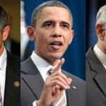 Reps. Dennis Kucinich (left) and Ron Paul (right) are upset with Obama's actions on Libya.