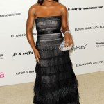 Serena Williams arrives at the 19th Annual Elton John AIDS Foundation&#039;s Oscar viewing party held at the Pacific Design Center on Feb. 27, 2011 in West Hollywood, California.