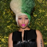 Nicki Minaj attends the Green Auction: A Bid To Save The Earth at Christie's on March 29, 2011 in New York City.