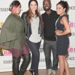 From Left to Right: Cherry Martinez, NYC radio personality, Power 105.1FM; Pebbles, Host and Executive Producer of ESSENCE + Pebbles Present: R&B Star; Bryan Michael-Cox, music producer; Angela Yee, NYC radio personality Power 105.1 The Breakfast Club