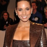 "Alicia Keys attends the ""Alexander McQueen: Savage Beauty"" Costume Institute Gala at The Metropolitan Museum of Art on May 2, 2011 in New York City."