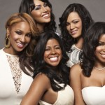 (L-R): Olivia Longott,  Somaya Reece, Chrissy Lampkin, Emily Bustamente, Mashonda