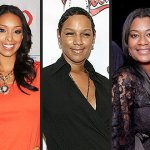 (L-R): Gloria Govan, Jackie Christie and Kimsha Artest