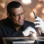 Laurence Fishburne as Dr. Raymond Langston on CSI