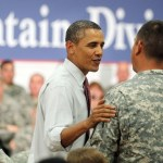 Obama Visits Soldiers At Fort Drum After Announcing Partial Troop Withdrawal, June 23, 2011
