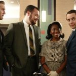 Scene from AMC&#039;s &quot;Mad Men&quot;