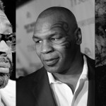 (L-R) Spike Lee, Mike Tyson, John Ridley