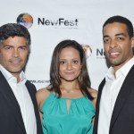 Esai Morales (left) Judy Reyes (center) Rashaad Ernesto Green (right)