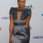 Model Eva Marcille arrives at the NBC Universal TCA 2011 Press Tour All-Star Party at the SLS Hotel on August 1, 2011 in Los Angeles