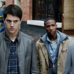 (L to R) Emma Bell, Nicholas D'Agosto, Arlen Escarpeta and MilesFisher
