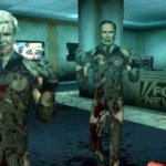 Newt Gingrich (l) and Bill O'Reilly in the videogame Tea Party Zombies Must Die
