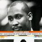 today show screenshot with troy davis photo