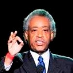 Rev. Al Sharpton speaks during the memorial service for Michael Jackson at the Staples Center in Los Angeles, Tuesday, July 7, 2009. (AP Photo/Mark J. Terrill, Pool)