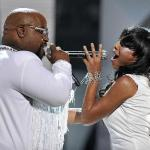 cee lo & melanie fiona1 2011 soul train awards