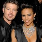 robin thicke &amp; paula patton