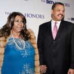 Aretha Franklin and William Wilkerson attend the BET Honors 2012 Pre-Honors dinner at the Corcoran Gallery of Art on Jan. 13, 2012 in Washington, DC.
