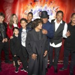 The Jackson family at the Canadian premiere of Michael Jackson: The Immortal World Tour
