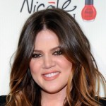 khloe kardashian closeup