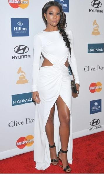 pre grammy party (Gabrielle Union)