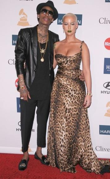 pre grammy party (wiz & amber)
