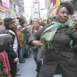 soul train flash mob dancers