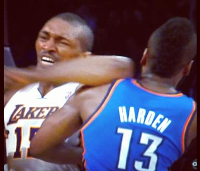 metta world peace & james harden