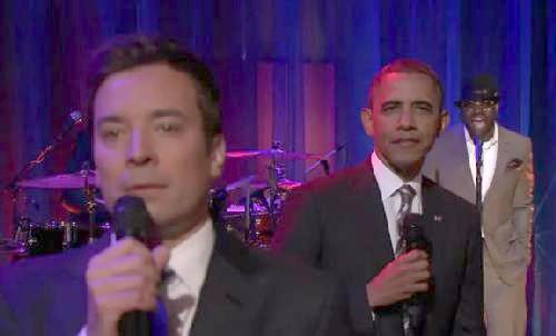 obama & jimmy fallon slow jam news