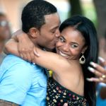 "Regina Hall (as Candace) and Terrance J. (as Michael) in Screen Gems' comedy ""Think Like a Man"""