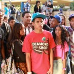 We The Party scene, Mandela Van Peebles (center).