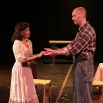 Bertha and Dan Crawford as portrayed by Valerie Tekosky and Ralph McCain