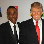 arsenio hall and donald trump