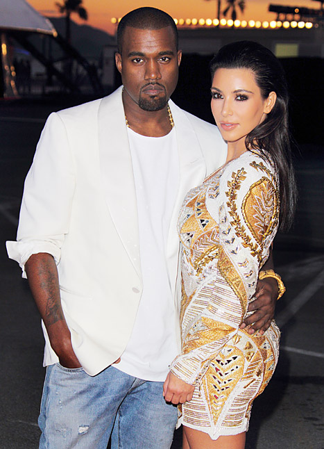 kanye west &amp; kim kardashian
