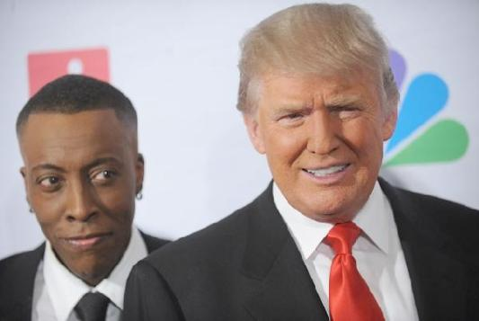 donald trump & arsenio hall