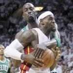 kevin garnett & lebron james