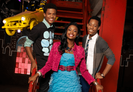 stars of disney's 'let it shine'
