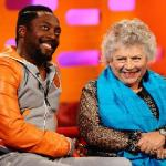 will i am & miriam margolyes