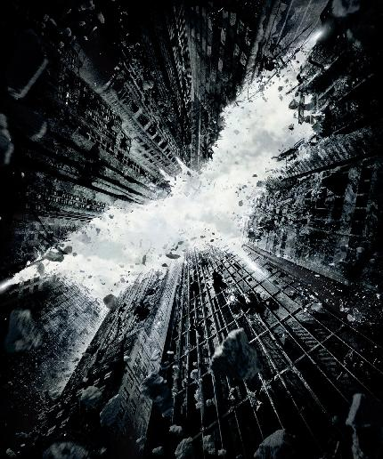 dark knight rises (poster)