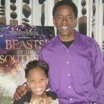 Quvenzhane Wallis and Dwight Henry