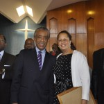 Rev. Al Sharpton with Rep. Laura Richardson at the 2012 Western Baptist State Convention in Los Angeles.