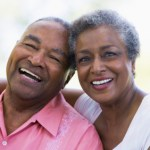 african american senior couple