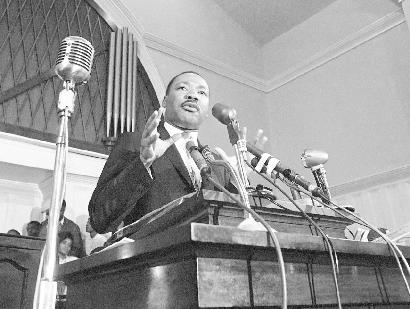 martin luther king jr. (microphones)
