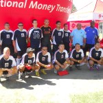 The L.A.P.D. Centurions are one of four teams advancing in the Los Angeles African Soccer Tournament