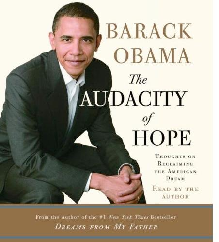 barack obama (audacity of hope cover)